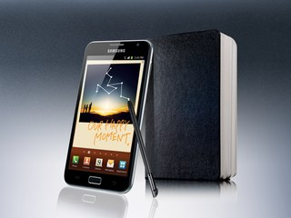 SAMSUNG GALAXY NOTE FRONT ANGLE 2