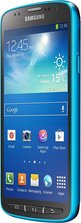 SAMSUNG GALAXY S4 ACTIVE FRONT LEFT BLUE