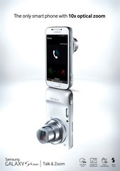 SAMSUNG GALAXY S4 ZOOM KEY VISUAL
