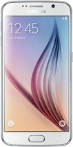 SAMSUNG GALAXY S6 001 FRONT WHITE PEARL