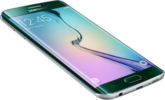 SAMSUNG GALAXY S6 EDGE 013 L-FRONT-DYNAMIC GREEN EMERALD