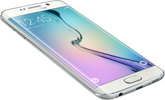 SAMSUNG GALAXY S6 EDGE 013 L-FRONT-DYNAMIC WHITE PEARL
