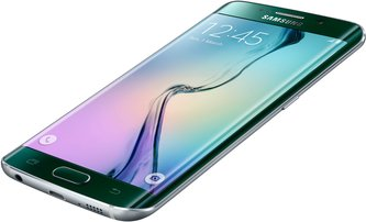 SAMSUNG GALAXY S6 EDGE 014 R-FRONT-DYNAMIC GREEN EMERALD