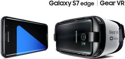 samsung galaxy s7 edge f2 black gear vr