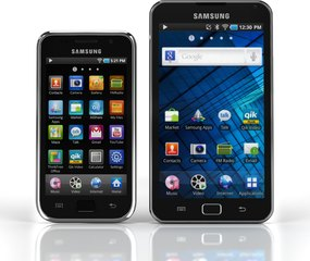 SAMSUNG GALAXY S WIFI 4.0 5.0 FRONT