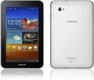SAMSUNG GALAXY TAB 7.0 PLUS PRODUCT IMAGE FRONT WHITE BACK