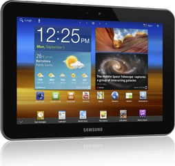 SAMSUNG GALAXY TAB 8.9 LTE FRONT LANDSCAPE