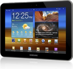 SAMSUNG GALAXY TAB 8.9 LTE FRONT LANDSCAPE 1
