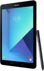 SAMSUNG GALAXY TAB S3 004 LEFT PERSPECTIVE PEN BLACK