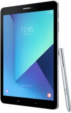 samsung galaxy tab s3 004 left perspective pen silver