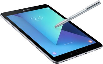 samsung galaxy tab s3 006 front silver