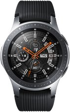 SAMSUNG GALAXY WATCH SM-R800 07 FRONT SILVER