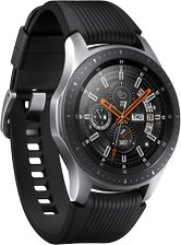 SAMSUNG GALAXY WATCH SM-R800 10 L PERSPECTIVE SILVER