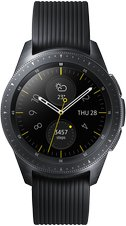 SAMSUNG GALAXY WATCH SM-R810 SM-R810 01 FRONT MIDNIGHT BLACK