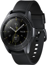 samsung galaxy watch sm-r810 sm-r810 03 r perspective midnight black