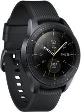 SAMSUNG GALAXY WATCH SM-R810 SM-R810 04 L PERSPECTIVE MIDNIGHT BLACK
