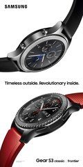 samsung gear s3 frontier classic ooh v red