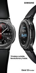 SAMSUNG GEAR S3 FRONTIER DOUBLE OOH V BLACK