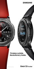 SAMSUNG GEAR S3 FRONTIER DOUBLE OOH V RED