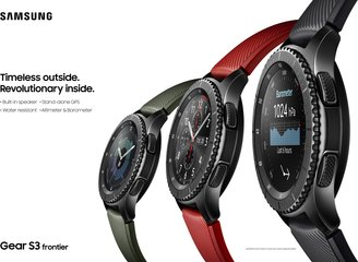 SAMSUNG GEAR S3 FRONTIER GROUP A 2P