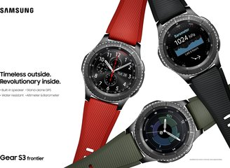 SAMSUNG GEAR S3 FRONTIER GROUP B 2P