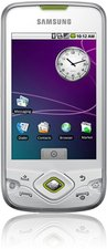samsung gt-i5700 galaxy spica front silver