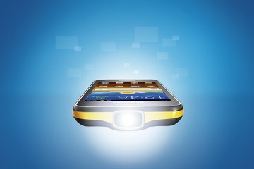 samsung gt-i8530 galaxy beam projector on