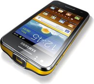 samsung gt-i8530 galaxy beam top angle