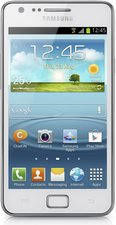 SAMSUNG GT-I9105 GALAXY S II PLUS FRONT SILVER