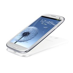 samsung gt-i9300 galaxy s iii bottom angle white