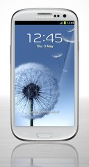SAMSUNG GT-I9300 GALAXY S III FRONT WHITE