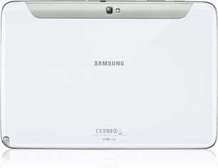 samsung gt-n8000 galaxy note 101 white back