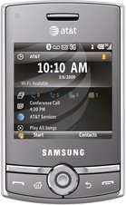 samsung sgh-i627 propel pro front open