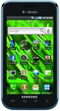 SAMSUNG SGH-T959 GALAXY S VIBRANT FRONT