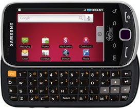 SAMSUNG SPH-M910 INTERCEPT GRAY QWERTY FRONT