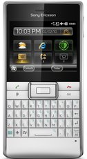 SONY ERICSSON ASPEN SILVER FRONT