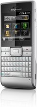 SONY ERICSSON ASPEN SILVER FRONT ANGLE