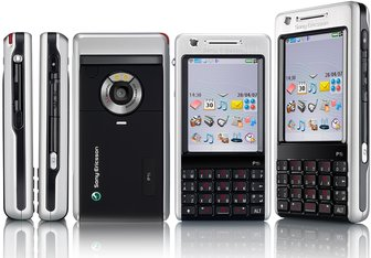 SONY ERICSSON P1 5 VIEWS