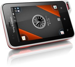 SONY ERICSSON XPERIA ACTIVE BLACK ORANGE 01