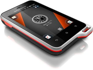 SONY ERICSSON XPERIA ACTIVE BLACK ORANGE 02