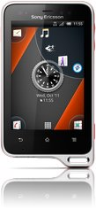 SONY ERICSSON XPERIA ACTIVE FRONT BLACK ORANGE 02