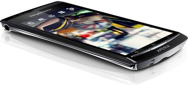 sony ericsson xperia arc black 1