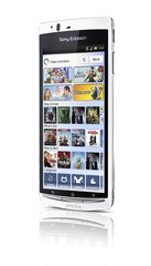SONY ERICSSON XPERIA ARC S LANDSCAPE VIDEO WHITE