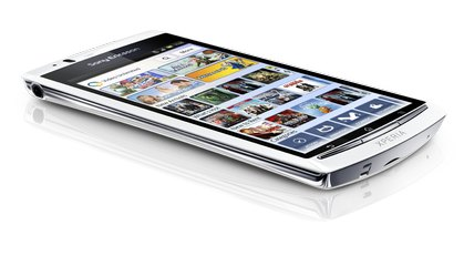 SONY ERICSSON XPERIA ARC S VIDEO WHITE