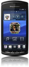 sony ericsson xperia play black front screen1