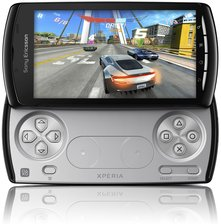 sony ericsson xperia play r800x front open