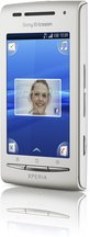 SONY ERICSSON XPERIA X8 WHITE FRONT RIGHT