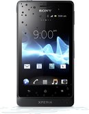 SONY XPERIA GO FRONT BLACK WATEREFFECT
