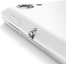 sony xperia l white button