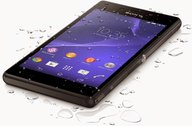 SONY XPERIA M2 AQUA 07 BLACK TABLETOP